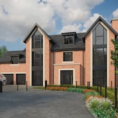 House Type C - Hunt Lane, Chadderton:  Detached home by CRISP3D