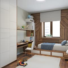 ห้องนอนเด็กชาย by AstudioDesign