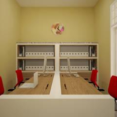 Ruang Keuangan:  Ruang Kerja by Vaastu Arsitektur Studio