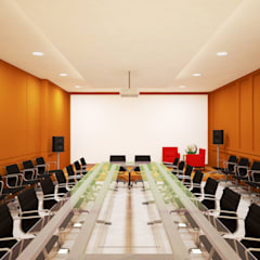 Ruang Meeting :  Ruang Kerja by Vaastu Arsitektur Studio