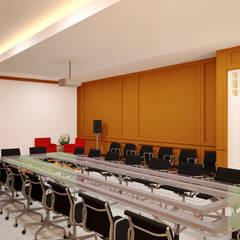 Ruang Meeting:  Ruang Kerja by Vaastu Arsitektur Studio