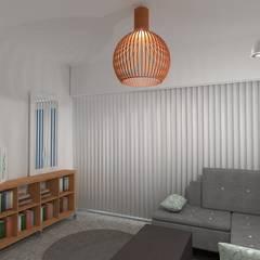 Diseño de Monoambiente en Buenos Aires : Livings de estilo  por Arquimundo 3g.