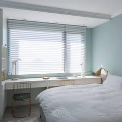 غرفة نوم تنفيذ 層層室內裝修設計有限公司