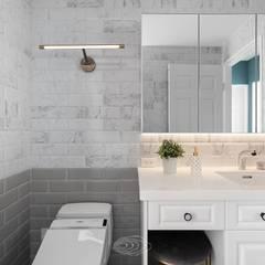 حمام تنفيذ 層層室內裝修設計有限公司 , بلدي