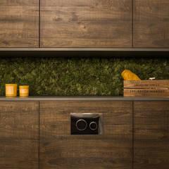 MĘSKIE WNĘTRZE: styl , w kategorii Łazienka zaprojektowany przez KODO projekty i realizacje wnętrz