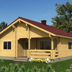 Casa di legno in stile  di Jose Bueno - Homify