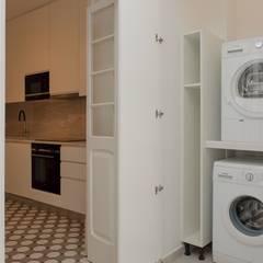 Apartamento T3 Amoreiras - Lisboa Cozinhas modernas por EU LISBOA Moderno