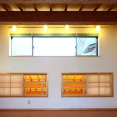 むくり屋根のある家: 帆の風設計が手掛けた子供部屋です。