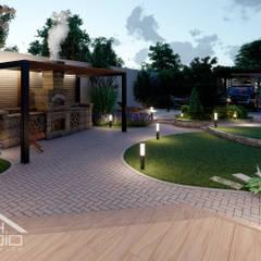 Ландшафтный дизайн участка с проектом террасы в Севастполе: Сады в . Автор – Pohalchuk&Co