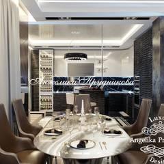 Дизайн-проект квартиры в ЖК «Эмеральд» в современном стиле: Столовые комнаты в . Автор – Дизайн-студия элитных интерьеров Анжелики Прудниковой