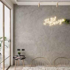 室內設計/商業空間設計規畫:  Study/office by 倢居室內設計