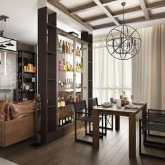 Soft Loft: Столовые комнаты в . Автор – Zibellino.Design