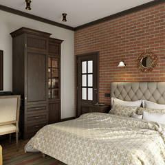 Country Loft: Спальни в . Автор – Zibellino.Design
