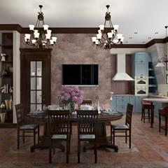 Comedores de estilo  por Zibellino.Design