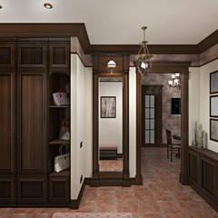 Koridor & Tangga Gaya Mediteran Oleh Zibellino.Design Mediteran
