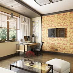 asian Study/office by Zibellino.Design