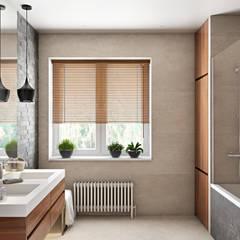 Интерьер дома в Саранске: Ванные комнаты в . Автор – Zibellino.Design