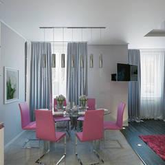 Свежесть: Столовые комнаты в . Автор – Zibellino.Design