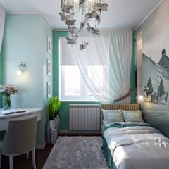 Girls Bedroom by Zibellino.Design