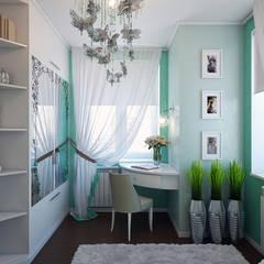 Camera ragazze in stile  di Zibellino.Design