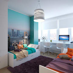 Boys Bedroom by Zibellino.Design