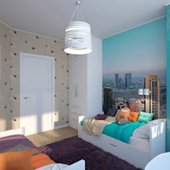 Boys Bedroom by Zibellino.Design, Eclectic