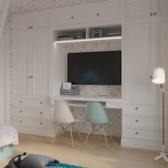 Квартира для молодой семьи: Детские комнаты в . Автор – Givetto Casa