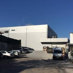Growing - Engenharia e construção| Obras para rede de gás empresarial |: Escritórios e Espaços de trabalho  por Black Oak Company group|( Ooty. )( Timberman )( Growing ),Industrial