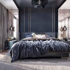 ANTE MİMARLIK  – Avcılar Vizyon Konut:  tarz Yatak Odası