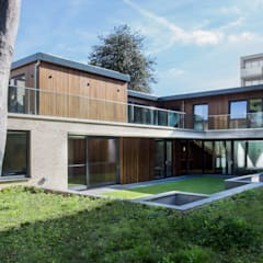 Designcubed Architects - New-Build Residence Beckenham, London:  Detached home by Designcubed