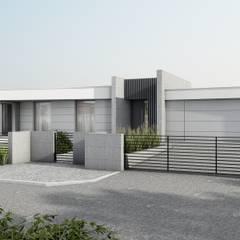 Dom jednorodzinny, parterowy: styl , w kategorii Dom jednorodzinny zaprojektowany przez Offa Studio