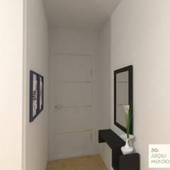 Monoambiente - Palermo : Pasillos y recibidores de estilo  por Arquimundo 3g.