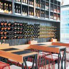 Restaurantes de estilo  por Padoan Sistemi