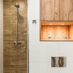MIESZKANIE PORTOWE: styl , w kategorii Łazienka zaprojektowany przez KODO projekty i realizacje wnętrz
