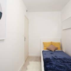 Ponytec:  tarz Küçük Yatak Odası