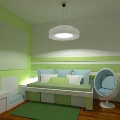 Diseño de interiores aplicado a la salud en Belgrano R por 3G Arquimundo: Habitaciones para niños de estilo  por Arquimundo 3g - Diseño de Interiores - Ciudad de Buenos Aires