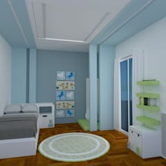 Boys Bedroom by Arquimundo 3g.