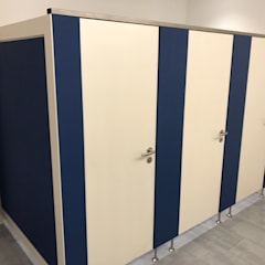 Installierte WC-Abtrennungen:  Veranstaltungsorte von RGenau Industries KG