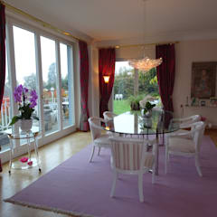 Innenausbau und Inneneinrichtung Villa:  Esszimmer von adriano@kraenzlin.com