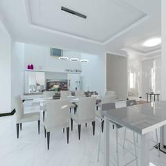 غرفة السفرة تنفيذ Atelier BAOU+