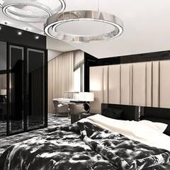 projekt sypialni: styl , w kategorii Sypialnia zaprojektowany przez ARTDESIGN architektura wnętrz