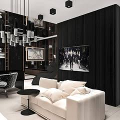 elegancki gabinet: styl , w kategorii Domowe biuro i gabinet zaprojektowany przez ARTDESIGN architektura wnętrz