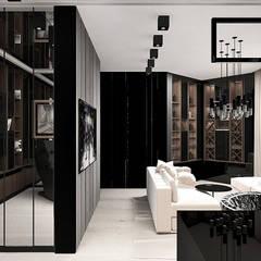 wnętrze gabinetu: styl , w kategorii Domowe biuro i gabinet zaprojektowany przez ARTDESIGN architektura wnętrz