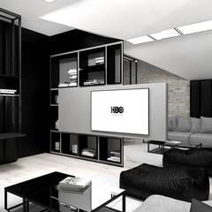 industrial Nursery/kid's room by ARTDESIGN architektura wnętrz