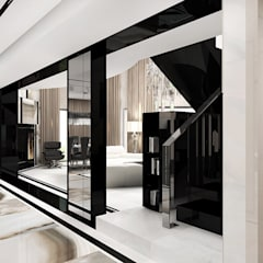 wnętrze domu - hol: styl , w kategorii Korytarz, przedpokój zaprojektowany przez ARTDESIGN architektura wnętrz