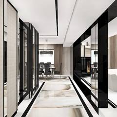 aranżacja holu: styl , w kategorii Korytarz, przedpokój zaprojektowany przez ARTDESIGN architektura wnętrz