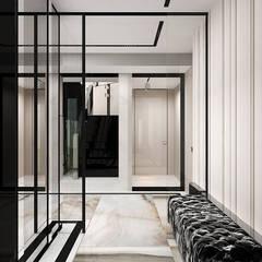 projekt wiatrołapu: styl , w kategorii Korytarz, przedpokój zaprojektowany przez ARTDESIGN architektura wnętrz