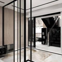 projekt holu: styl , w kategorii Korytarz, przedpokój zaprojektowany przez ARTDESIGN architektura wnętrz