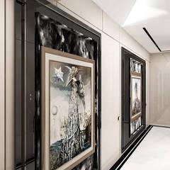 aranżacja korytarza na piętrze: styl , w kategorii Korytarz, przedpokój zaprojektowany przez ARTDESIGN architektura wnętrz
