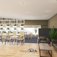Office Project at Central Jakarta: Gedung perkantoran oleh Simply Arch., Modern